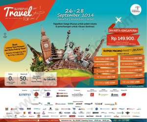 kompas travel fair