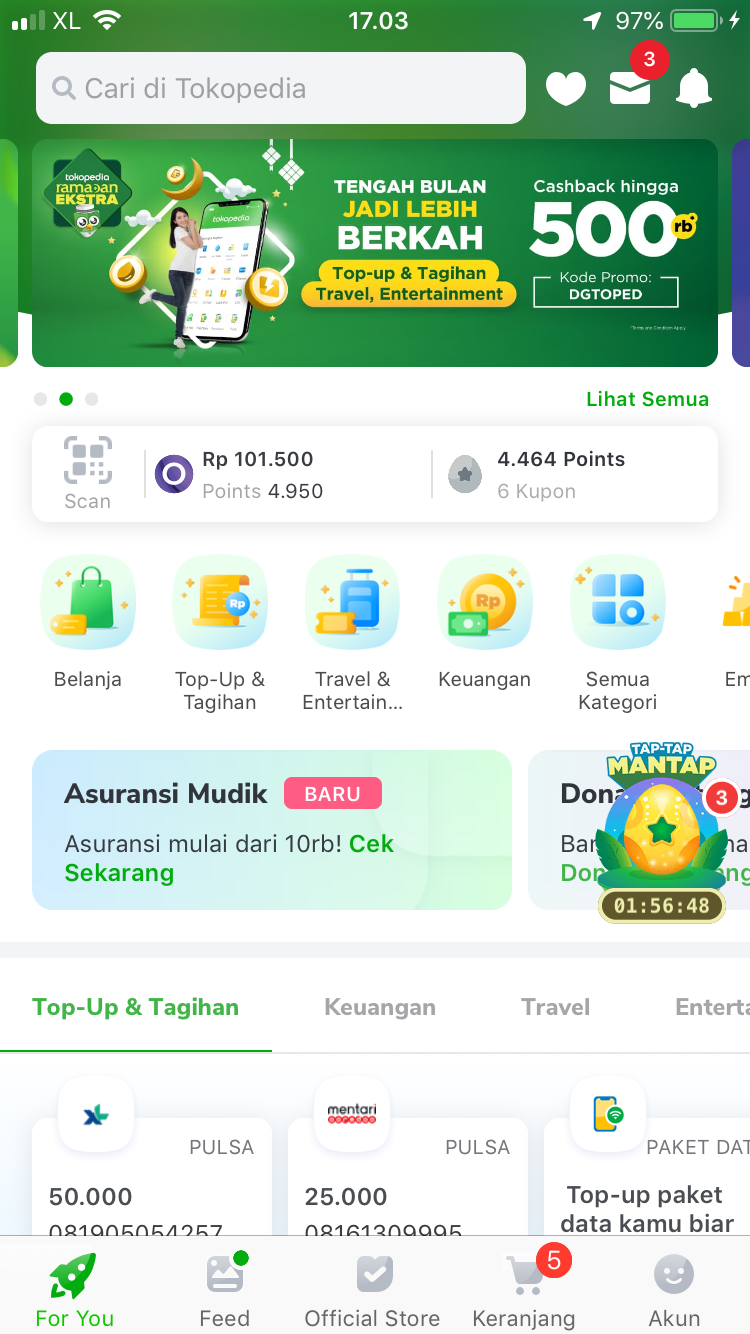 tokopedia apps