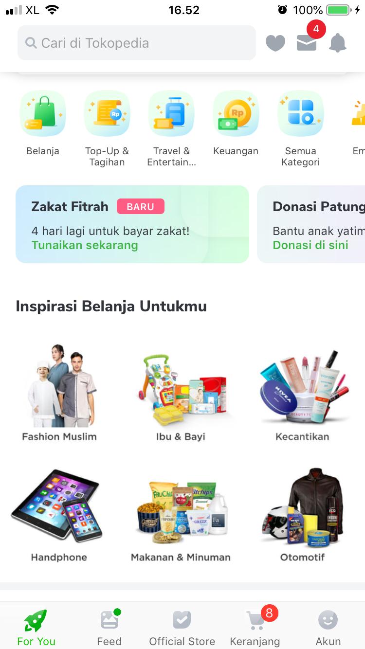 Review Investasi Emas Di Apps Tokopedia Rizal Planner
